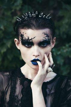 Image result for dark fantasy makeup