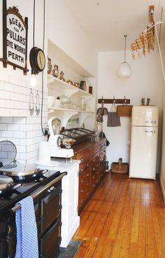 Grainne and Ian's Characterful Collection in Edinburgh House Tour | Apartment Therapy #kichten