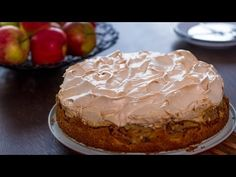 This apple meringue cake is one of the best apple desserts, the meringue has a crispy exterior while the cake is soft and apples bring such a wonderful flavor and texture, a delightful and comforting dessert indeed.