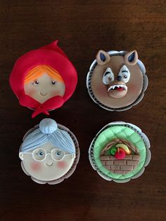 Flavia Ribeiro Andrada - cakes . cupcakes . cookies: Little Red Riding Hood - Chapeuzinho Vermelho