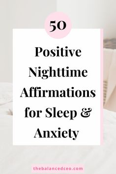 Night affirmations for sleep, gratitude, and sweet dreams. Stress And Anxiety, Affirmations For Anxiety, Positive Affirmations, Negative Thoughts, Positive Thoughts, Stress Symptoms, Tomorrow Is Another Day, Have A Good Night