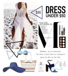 """""""Dress for 46$"""" by katestyls02 on Polyvore featuring Prada, Kate Spade, Bobbi Brown Cosmetics, NYX, TheBalm, philosophy, Paul Andrew and Dressunder50"""