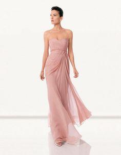 Empire Herz-Ausschnitt mit Bodenlang in Rosa Abendkleid Perc0022 für98.76 €
