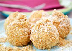 Süße Topfenknödel schmecken einfach himmlisch! Topfenknödel-Rezepte gibt es viele, aber dieses ist wirklich toll!