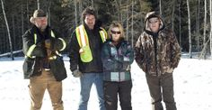Ice Road Truckers - Alex Debogorski, Darrell Ward, Lisa Kelly, and Art Burke
