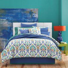 Panama Comforter Set Blue $200/ twin