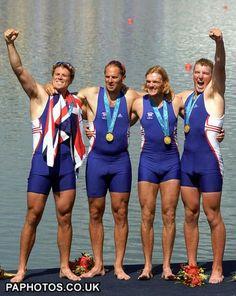 Sydney Olympics British rowers