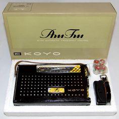 https://flic.kr/p/BnXvdW   Vintage Koyo AM-FM 10 Transistor Radio, Model KTR-1022, Made In Japan, Circa 1964