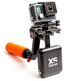 XSories X-Steady Electro 1 Axis Gimbal, Handheld Stabilizer for GoPro Cameras (Black/Orange) Take Video, Gopro Camera, Gopro Hero, Stability, Top, Robots, Angles, Shake, Photography Equipment