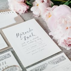 Bohemian Luxe Invitations / View on The LANE / Wedding Style Inspiration (instagram: the_lane)