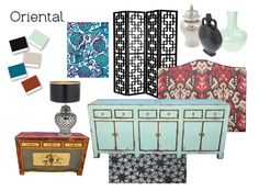 Love the unique patterns and rustic feel of a touch of oriental, but only a touch!