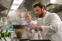 Chef Scott Conant of Scarpetta at the 2016 South Beach Wine & Food Festival in Miami, this pairing of hot truffle risotto and Tequila Casa Dragones Joven is the perfect dish to finish off a winter Saturday.