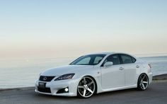cars lexus lexus isf on Vossen CV3 Wheels