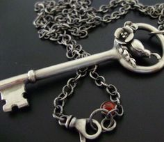 key necklace.