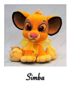 Wauw, wat een mooi patroon van Simba