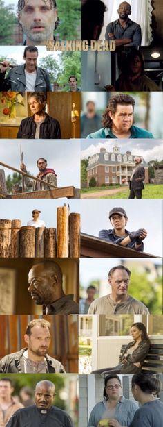 The Walking Dead, Season 7, episode 8, (midseason finale) ''Hearts Still Beating''