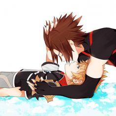 Tags: Anime, Kingdom Hearts: Birth by Sleep, Terra, Ventus, Karudoll