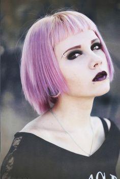 Pastel Goth Princess   http://short-haircuts.us/pastel-goth-princess/