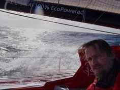 Vendée Globe 2012-13.   Bubi Sansó, Acciona Sailing