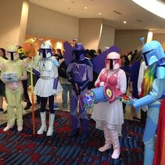 Fairy Bounty Hunters #BobaFett #StarWars #DragonCon