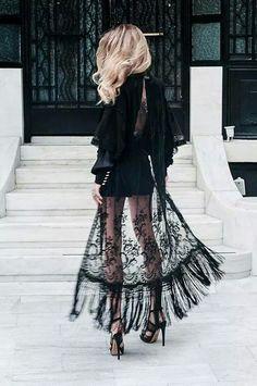 Black & lace