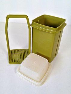mom remember this pickle saver----------vintage Tupperware PickADeli pickle keeper by forrestinavintage, $12.00
