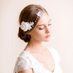 15 New Beautiful Bridal Hair Accessories from Florentès
