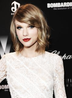Taylor Swift {short hair don't care}