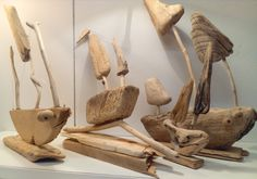 Driftwood Boats by CroyCrafts