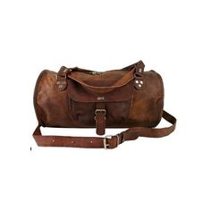 21 Inch/inches Pure Genuine Handmade Soft Leather Duffle/Duffel Bag... ($94) found on Polyvore