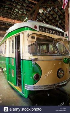 Connecticut motor coach museum east windsor CT Stock Photo