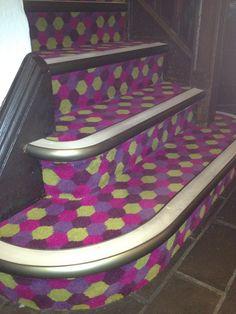 Quantum Stair Nosings In A Night Club In Manchester