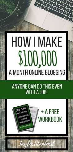 The simple things I do to earn money blogging. #blogging #incomereport#blogtips