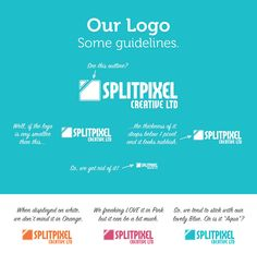 Our branding - A small section about the logo