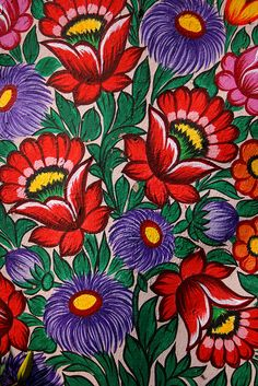 Floral Design, Zalipie, Poland | Flickr - Photo Sharing!