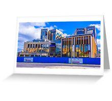Window Installation at the New Bendigo Hospital Greeting Card