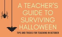 Blog post to assist teachers in October. Learn to work through the stress of teaching around Halloween. #teacherlife #halloween #teachertips #teacherblog #iteachtoo #upperelementary #lessonplans #halloweenlessons #halloweenactivities #elementaryschool #fifthgrade #fourthgrade #thirdgrade Elementary Teacher, Upper Elementary, Elementary Schools, Teacher Blogs, Teacher Hacks, Fifth Grade, Halloween Activities, Halloween Season, Lesson Plans