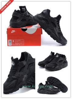 59c2578470b6 Nike Air Huarache Black 318429-045 Mens Coupons Sale