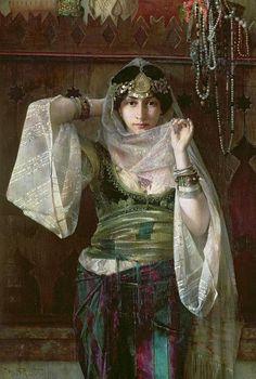 The Queen of the Harem - Ferdinand Max Bredt