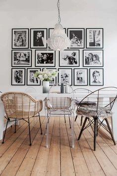 Iconic Retro Portraits Dining Room