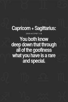 Zodiac Mind - Your source for Zodiac Facts Capricorn And Sagittarius Compatibility, Capricorn Quotes, Sagittarius And Capricorn, Zodiac Signs Astrology, Zodiac Facts, Zodiac Compatibility Chart, Astrology Chart, Scorpio Moon, Zodiac Quotes
