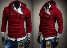BOLF 06 - BORDOWY   Odzież Dla Niego \ Bluzy męskie \ Bluzy z kapturem Kolekcja Męska   Denley - Odzieżowy Sklep internetowy   Odzież   Ubrania   Płaszcze   Kurtki