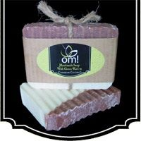 Om! Handmade Soap, Skin Candy and Lotion Bars. Carribean Coconut www.bearessence.net