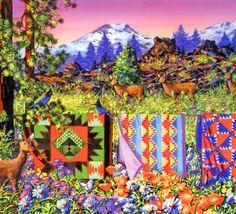 Delectable Mountains ~ Diane Phalen