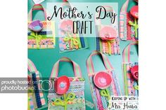 DIY Mother's Day Craft - Looking for a Mother's Day craft for kids of all ages? This adorable flower and washi tape craft will have your moms feeling appreciated!