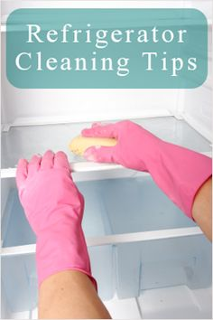 Professional tips to deep clean your refrigerator. How to clean your refrigerator. Defrosting your refrigerator. Household Cleaning Tips, House Cleaning Tips, Deep Cleaning, Spring Cleaning, Cleaning Hacks, Cleaning Services, Household Checklist, Office Cleaning, Cleaning Business