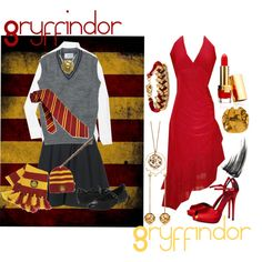 Gryffindor, created by infracti-angelus on Polyvore