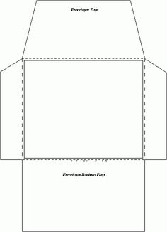 Here is an easy template to create an envelope. Envelope Diy, Envelope Template Printable, Envelope Pattern, How To Make An Envelope, Diy Paper, Paper Crafts, Creative Gift Wrapping, Diy Gift Box, Paper Envelopes