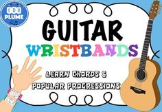 Rainbow ukulele teacher packet ukulele curriculum lesson plans are you learning the guitar in your music classroom try these wristbands to help reinforce fandeluxe Images