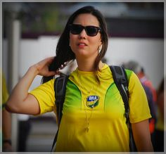 Egypt v Brasil, Olympic Football, Millennium Stadium Cardiff 26.7.12...Maybe a real Brasilian girl...she was speaking Portuguese...     www.facebook.com/visalus.nashville   Weight Loss Tip #1 Exercise: You must seriously be prepared to do some form of exercise if you want to lose weight so take on something - something is better than nothing.   ~Losing weight is as easy as two shake